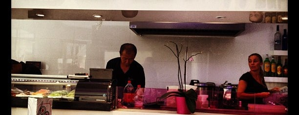 The Sushi Bar is one of Lugares favoritos de J..