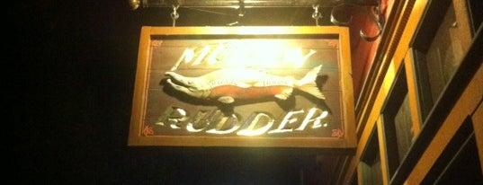 Muddy Rudder Public House is one of Locais curtidos por Susan.