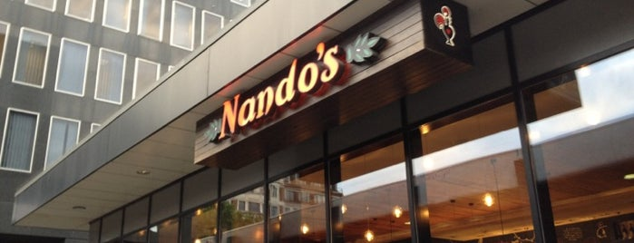 Nando's is one of Best in London.