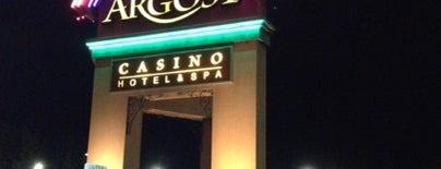 Argosy Casino Hotel & Spa is one of Casinos.