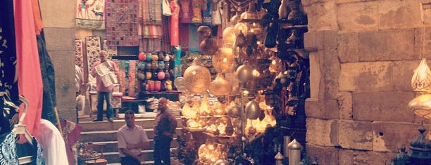 Khan Al-Khalili is one of Cairo - Top places.