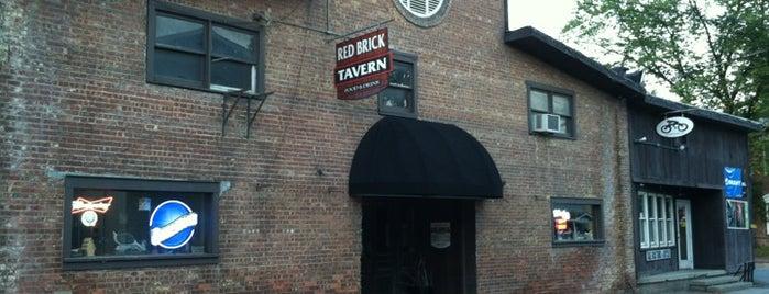 Red Brick Tavern is one of Lugares guardados de Rachel.
