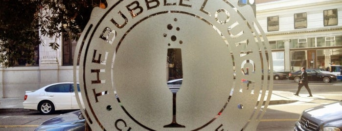 The Bubble Lounge is one of SF Nightlife.