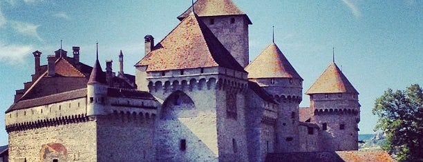 Château de Chillon is one of Hopefully, I'll visit these places one day....