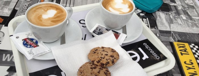 Espresso Republic is one of Favorite Food.