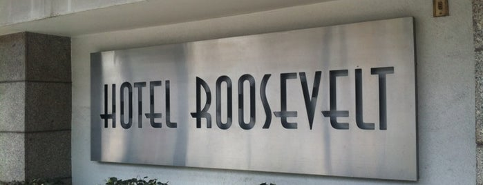 Hotel Roosevelt is one of Df.