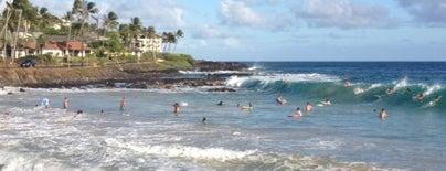 Brennecke's Beach is one of Kauai.