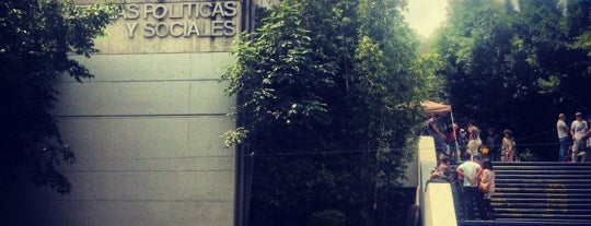 Facultad de Ciencias Políticas y Sociales is one of สถานที่ที่ Sheila ถูกใจ.