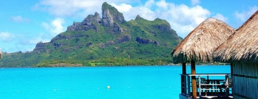 Four Seasons Resort Bora Bora is one of I want in hole world:).