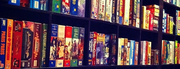 Snakes & Lattes is one of Board Game Cafes.