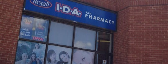 Rexall I.D.A. Pan Pharmacy is one of Rexall Pharma Store (1/2).