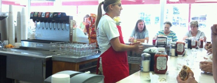 Taylor's Maid-Rite is one of Iowa.