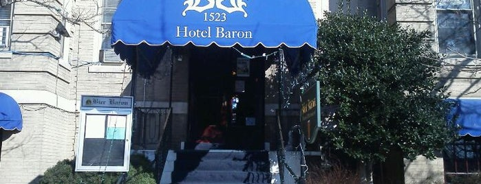 Bier Baron Tavern is one of Beer bars of DC.