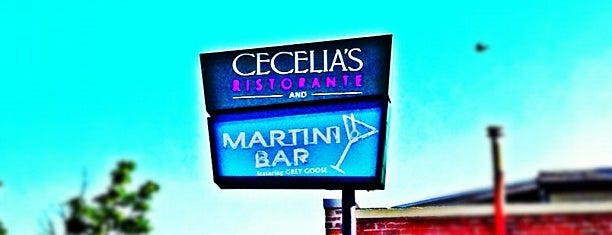 Cecelia's Ristorante & Martini Bar is one of Locais curtidos por Laketa.