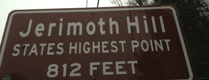 Jerimoth Hill is one of State High Points.