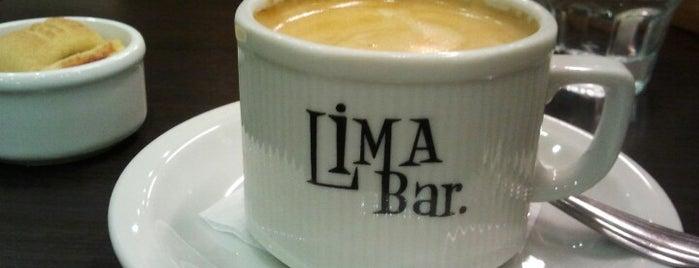 Lima Bar is one of Para merendar/cafe.
