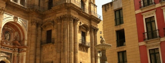 Plaza del Obispo is one of Spain!.