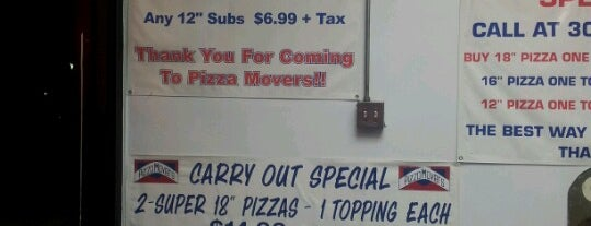 Pizza Movers is one of Elvis'in Beğendiği Mekanlar.