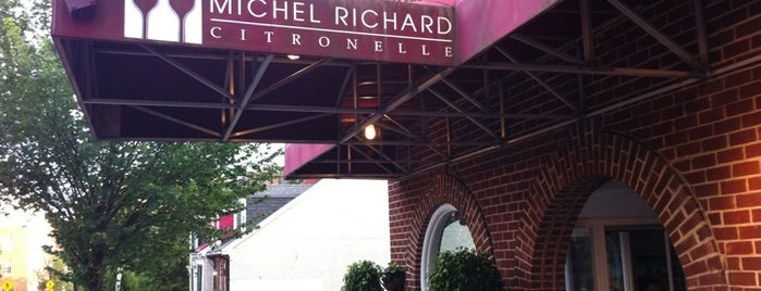 Michel Richard Citronelle is one of D.C. Weekender: Food.