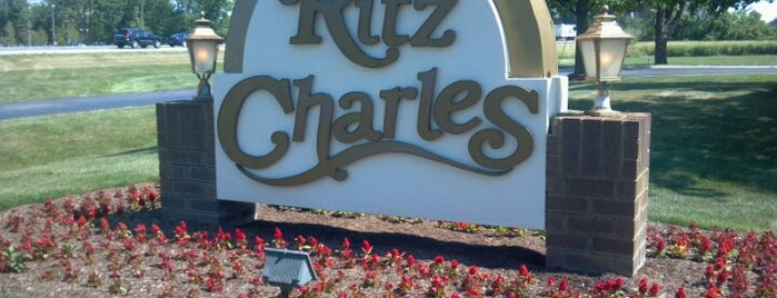 Ritz Charles is one of Jared's Liked Places.