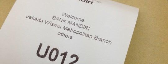 Bank Mandiri is one of Lugares guardados de cicik.
