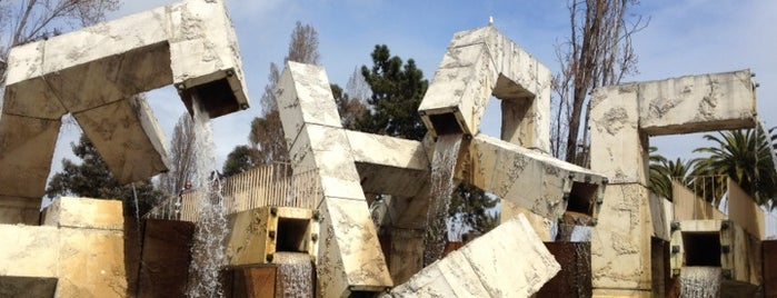 Vaillancourt Fountain is one of San Francisco Bay.