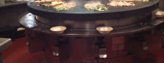 bd's Mongolian Grill is one of Lugares favoritos de Andrew.
