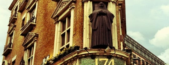 The Blackfriar is one of London.