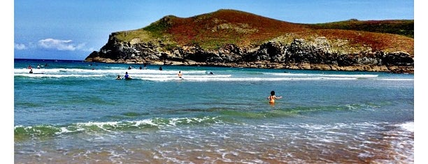 Praia de Pantín is one of Playas de España: Galicia.