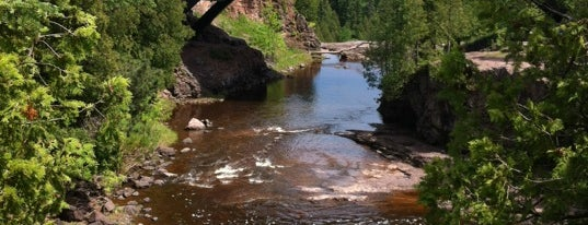 Gooseberry Falls State Park is one of Posti salvati di Lizzie.