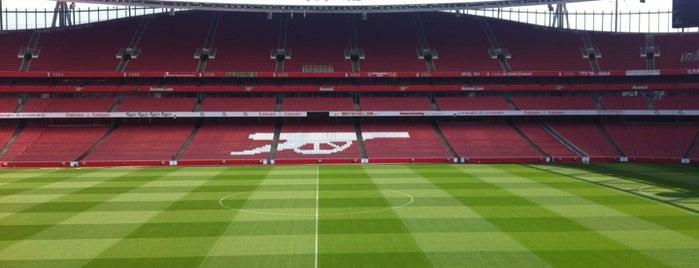 Emirates Stadium is one of London Favorites.