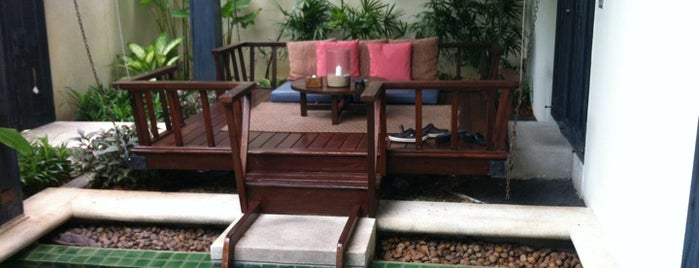 Anantara Lawana Resort & Spa is one of สถานที่ที่ Gordon ถูกใจ.