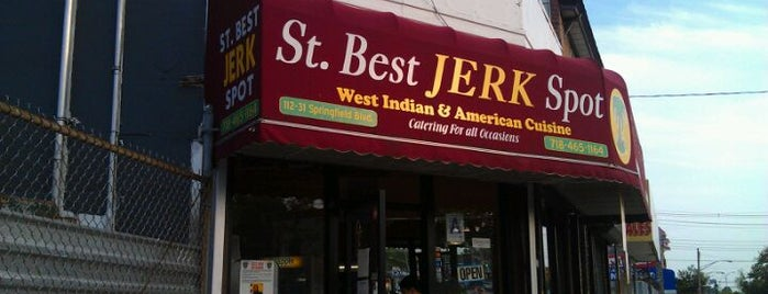 St. Best Jerk Spot is one of Food.