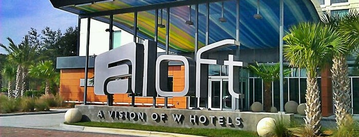 Aloft Jacksonville Tapestry Park is one of USA Orlando.