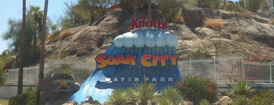 Knott's Soak City Palm Springs is one of Palm Springs.