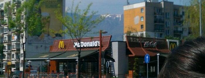 McDonald's is one of Orte, die 83 gefallen.