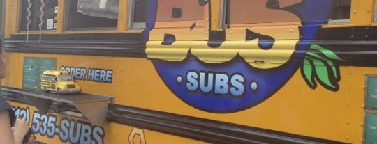 Short Bus Subs is one of Food Trucks.