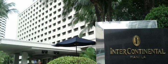 InterContinental Manila is one of Johnさんのお気に入りスポット.