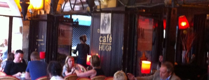 Café Hugo is one of Paris bars.