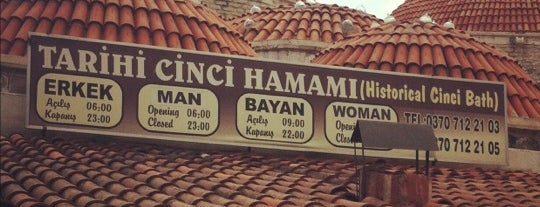 Tarihi Cinci Hamamı is one of SAFRANBOLU.