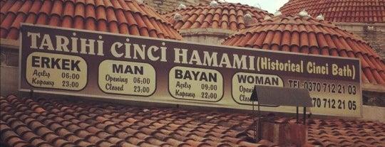 Tarihi Cinci Hamamı is one of G&S Turkey.