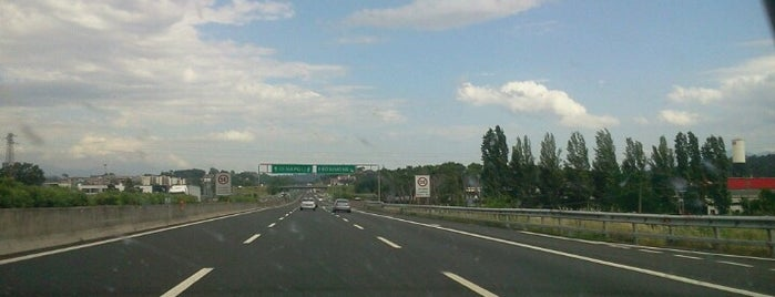 A1 - Frosinone is one of Autostrada A1 - «del Sole».
