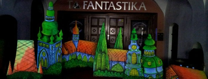 Black Light Theatre is one of StorefrontSticker #4sqCities: Prague.