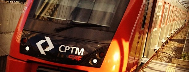 Estação Berrini (CPTM) is one of Orte, die MZ✔︎♡︎ gefallen.