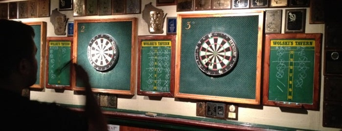 Wolski's Tavern is one of 15 Best Dart Bars in America.