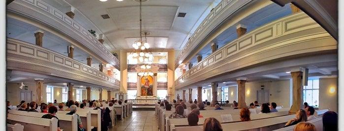 Кафедральный собор Святой Марии Евангелическо-лютеранской церкви Ингрии is one of Lieux qui ont plu à Татьяна.