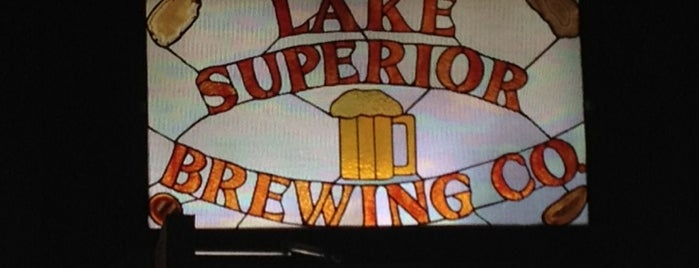 Lake Superior Brewing Co. at Dunes Saloon is one of Michigan Breweries.