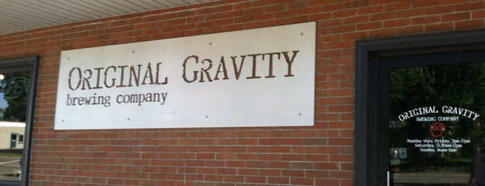 Original Gravity Brewing Company is one of Breweries to Visit.