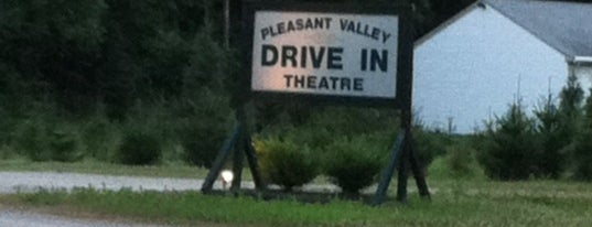 Pleasant Valley Drive In is one of TAKE ME TO THE DRIVE-IN, BABY.