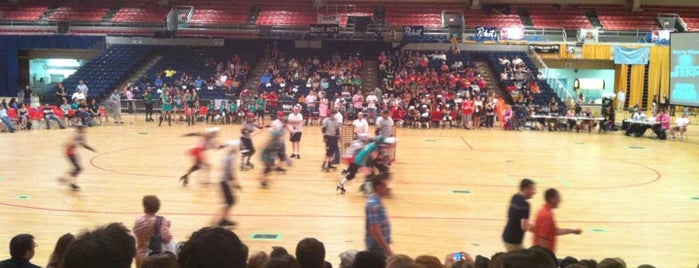 DC Rollergirls Roller Derby is one of 111 Places Tips.